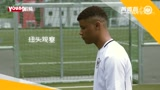 德甲法兰克福青训线上足球教学五 球的处理:地面接球后控球(转身)