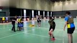 羽毛球 这种训练方法第一次见 可以尝试下