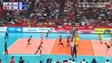 日本解说!经典回放:2019女排世界杯,中国女排VS日本女排