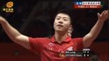 冠军局马龙11:2打懵奥恰洛夫,拿下金牌点霸气双手下压让日本观众安静!