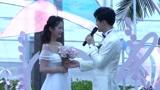 付辛博颖儿巴厘岛大婚宣布誓言,颖儿感动泪洒现场,网友:全程高甜