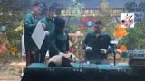 笑哭!2米大汉易建联被软萌熊猫宝宝吓到 惊出表情包