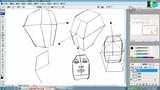 PS数位板绘画CG教程:头部形体概括与朝向变化01 (47播放)