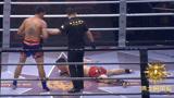 三回合被江通猜打倒4次 关键时刻邱建良大爆发 终于击倒泰国金童