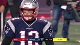 NFL常规赛:不倒翁!爱国者短码极限达阵,布雷迪:我要两分!